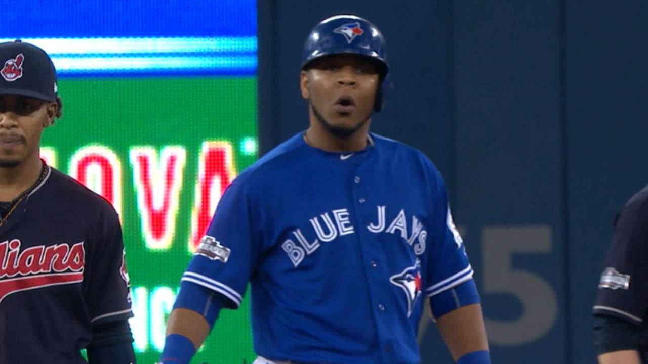 Tribe pays for walking to get to Encarnacion