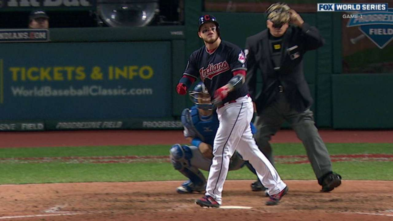 Indians have strong tandem behind the plate