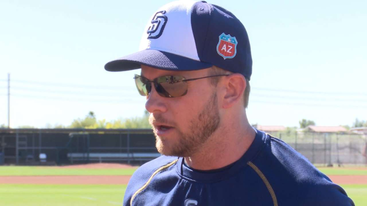 Green's message to Padres: 'Enjoy this moment'