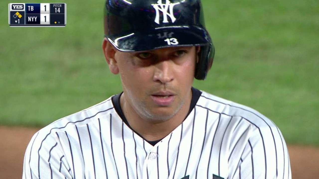 Yankees le dicen adiós a A-Rod venciendo a los Rays