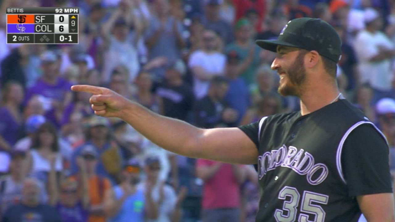 Bettis throws first shutout