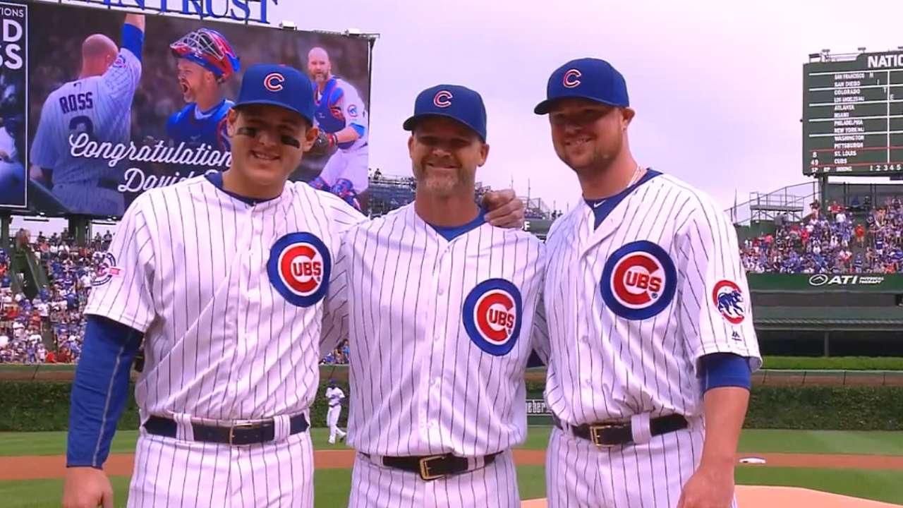 'Grandpa Rossy' surprised with pregame tribute