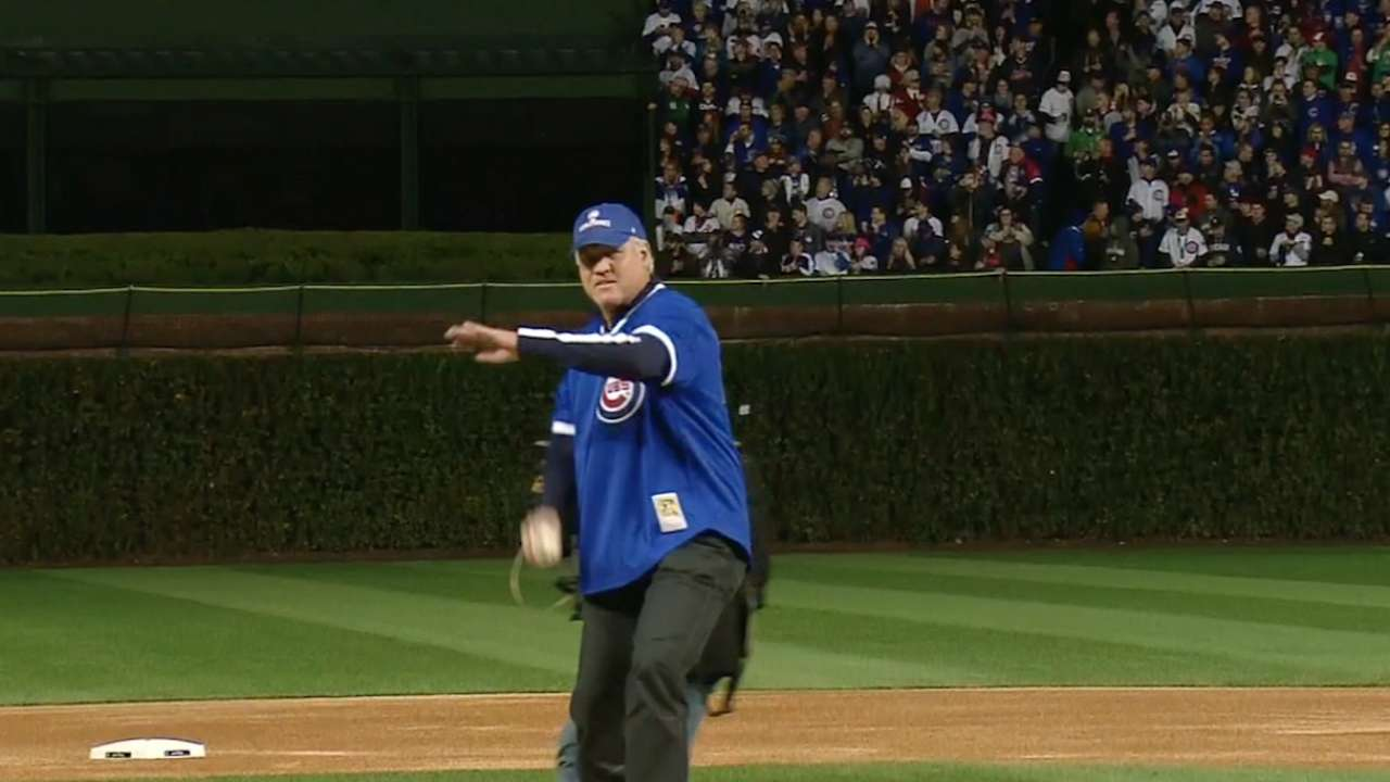 Sandberg happy to tag along with Cubs' ride