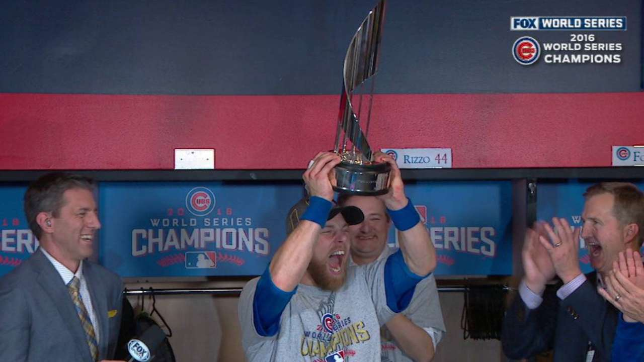 Zobrist's heroics net Series MVP honors