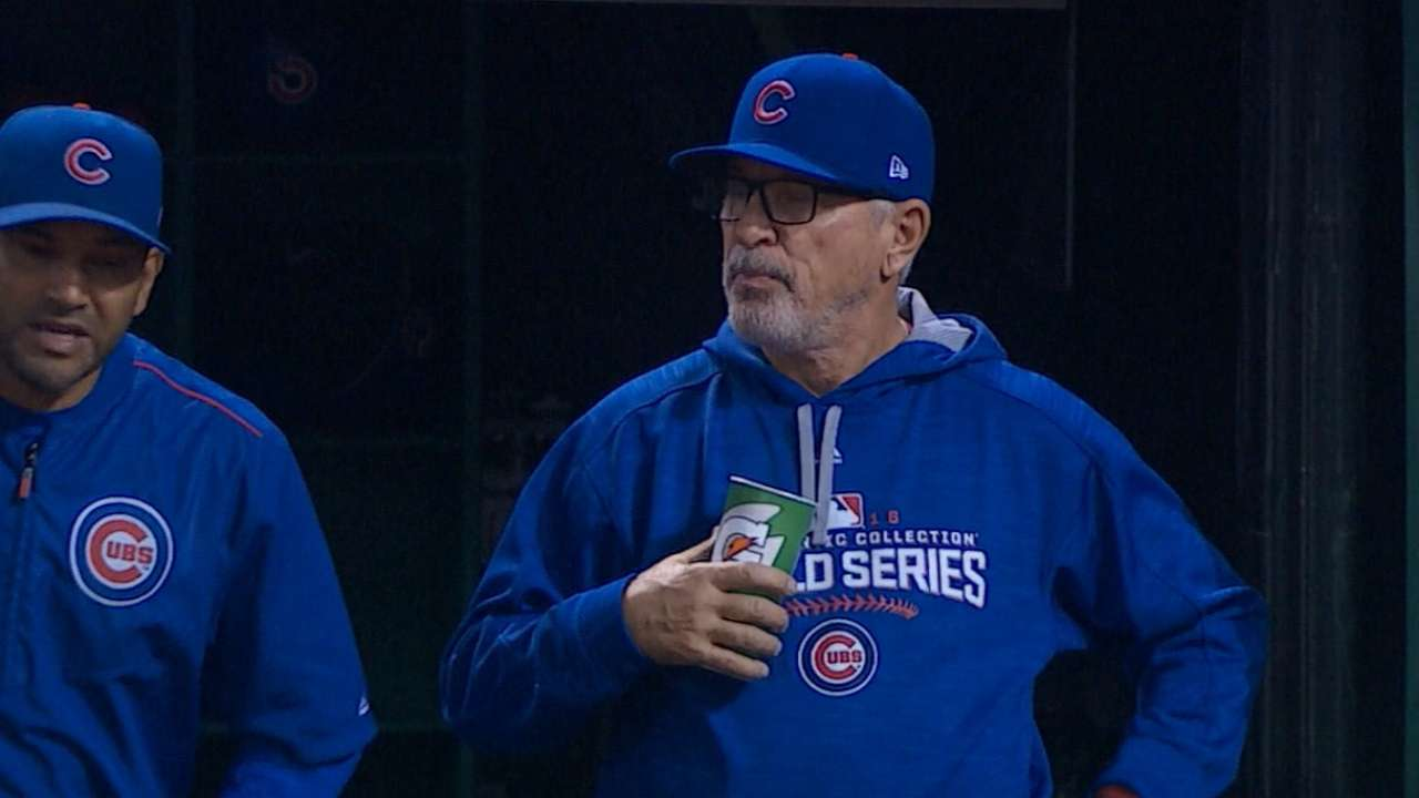 Maddon on Game 7 team meeting