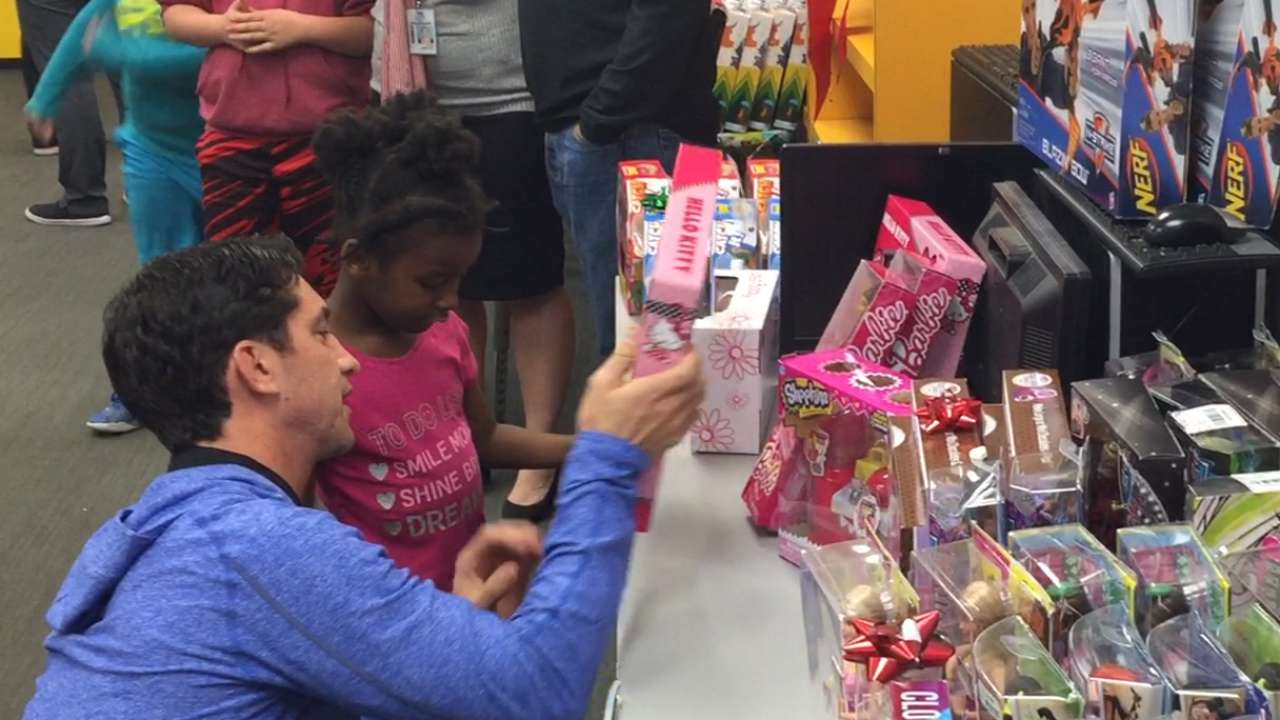 Holiday season in full swing with D-backs community events