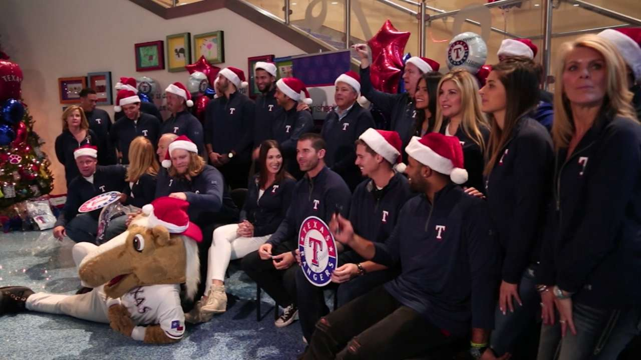 Toy drive allows Rangers to interact with community