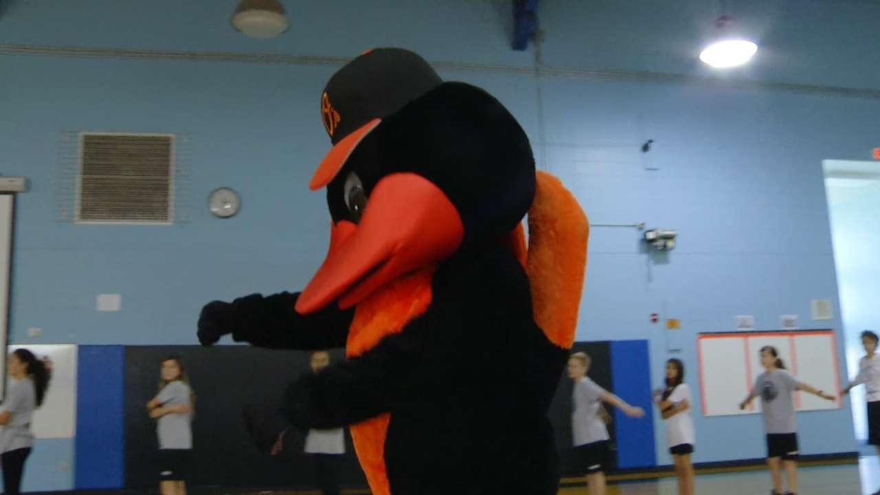 Orioles Health & Fitness Challenge returns to encourage kids