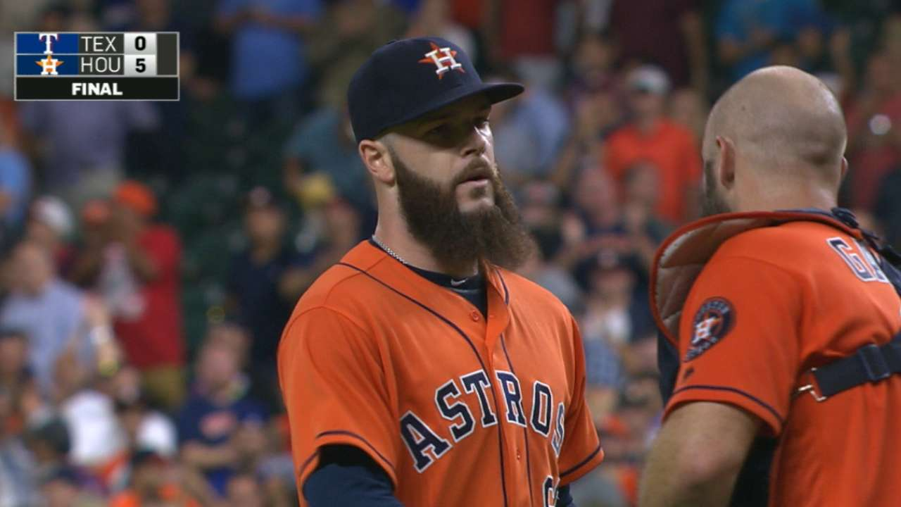 Keuchel on Astros' rotation