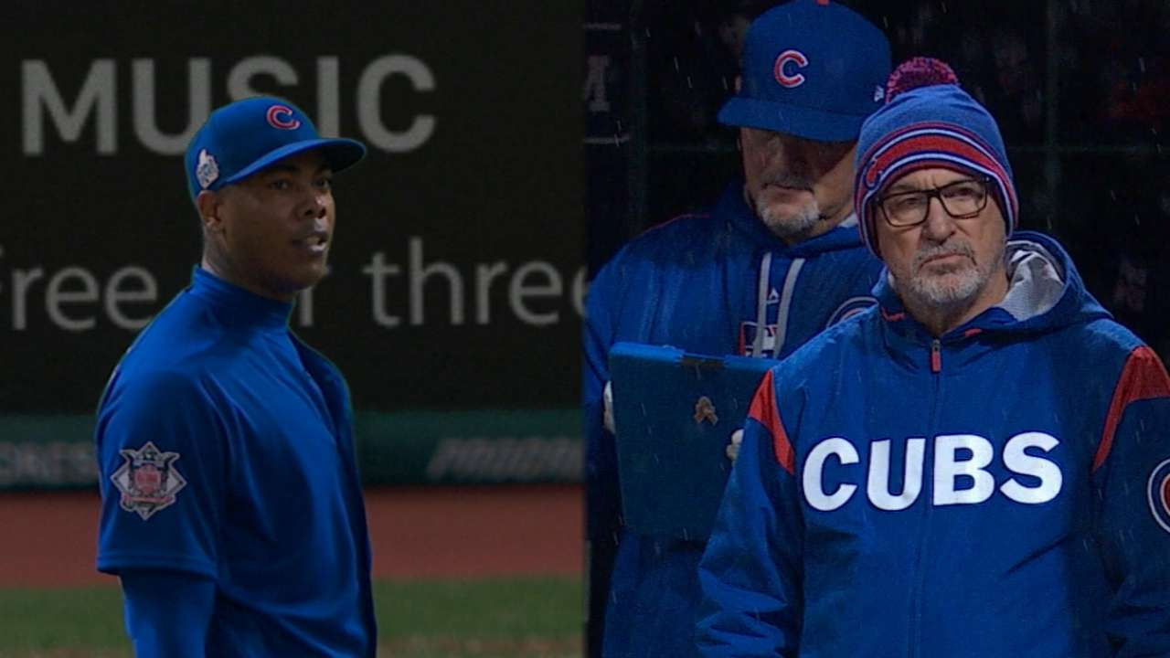 Maddon needs no excuse for Chapman moves