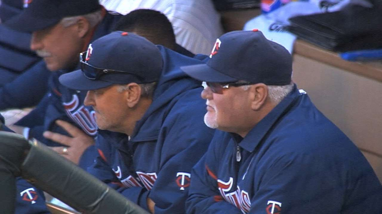 Gardenhire returns to Target Field, discusses role