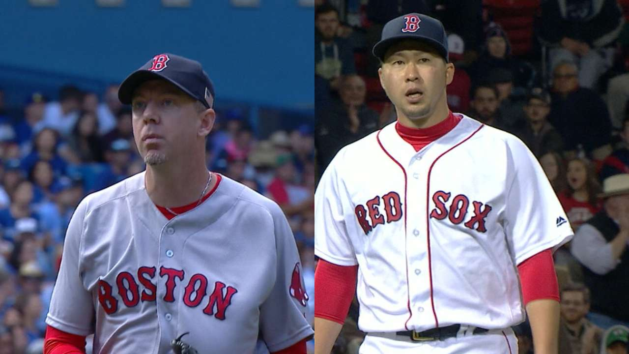 Fish add pair of ex-Red Sox arms