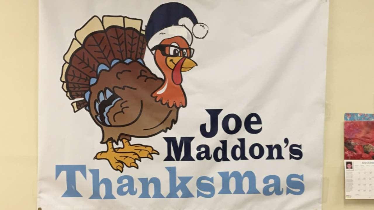 Maddons host Thanksmas meal in Hazleton