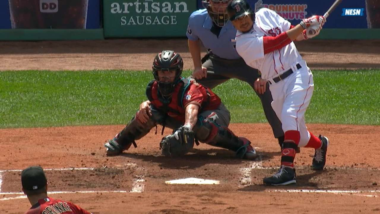 Must C: Betts' three home runs
