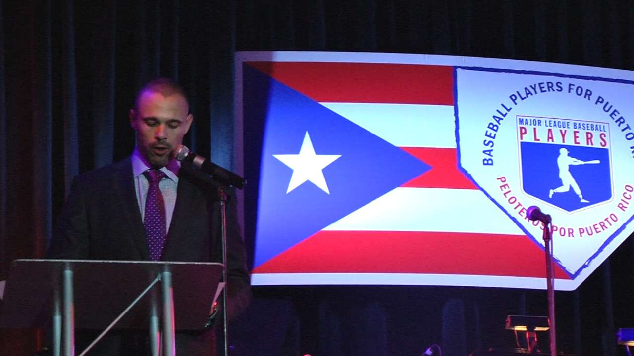 MLBPA hosts event in Puerto Rico