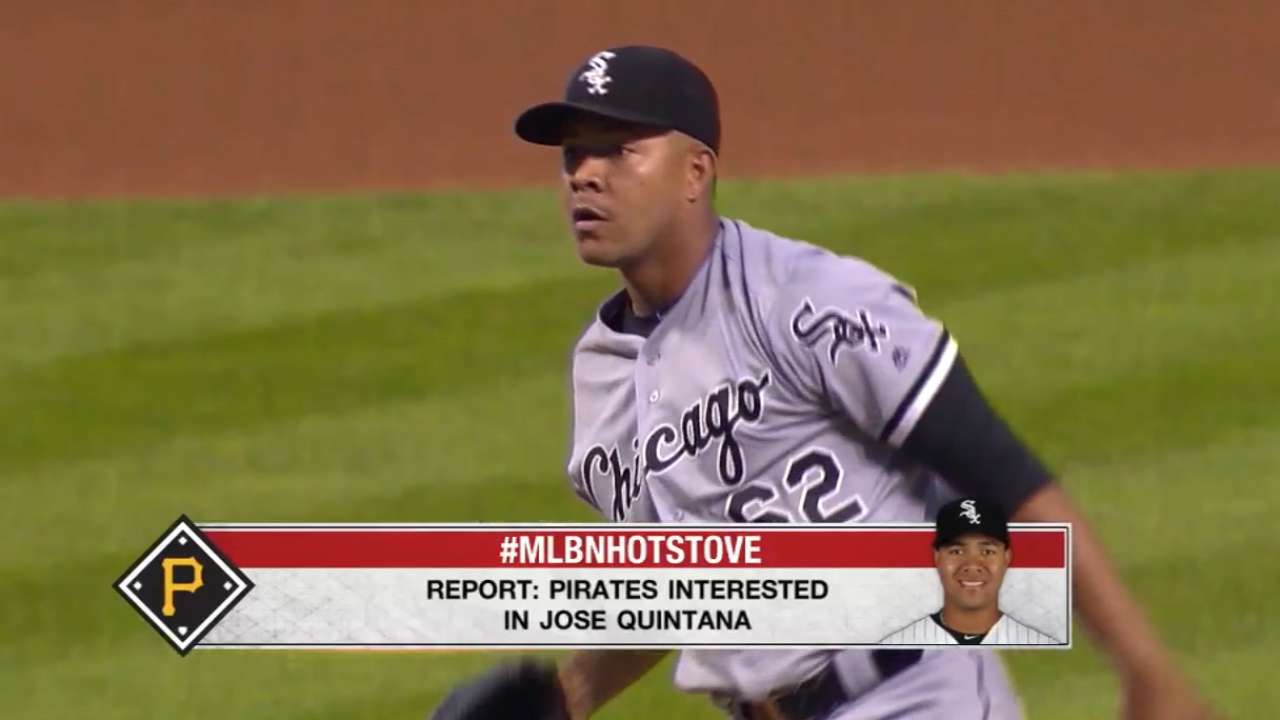 Pirates intrigued by Quintana