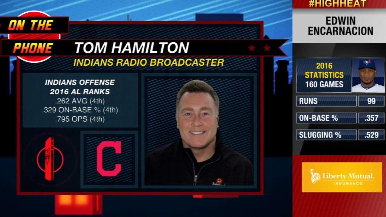 Tom Hamilton on Encarnacion