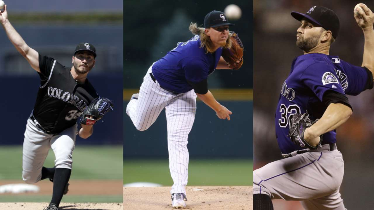 Bettis on Rockies rotation