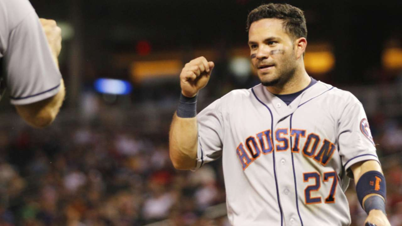 Altuve achieves elite status with stellar 2016
