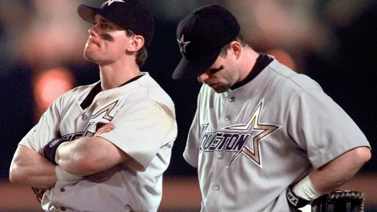 Bagwell on teammate Biggio