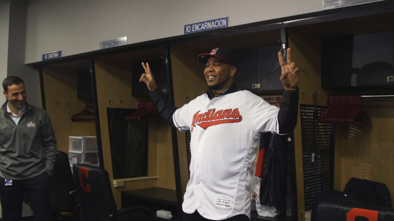 Encarnacion on Indians' talent