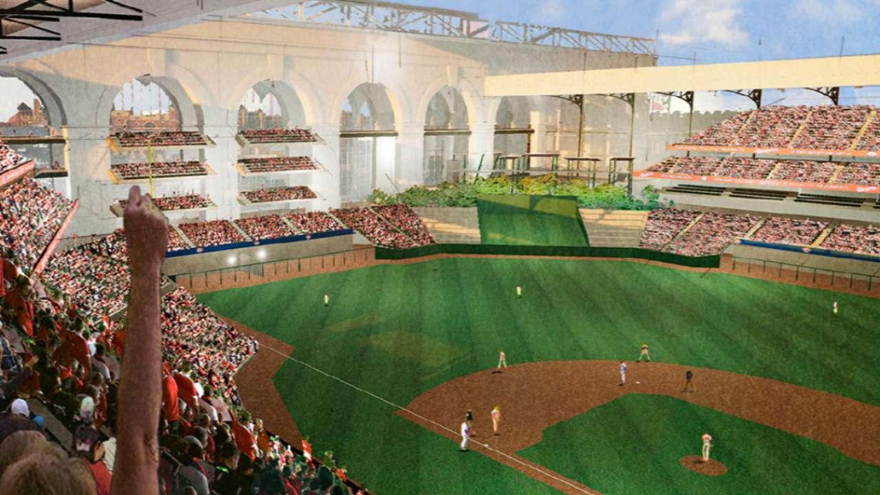 Rangers tab HKS to design new ballpark