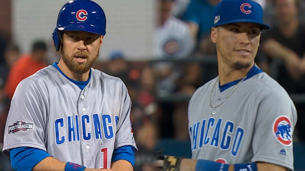 Cubs should go with Zobrist over Baez at second