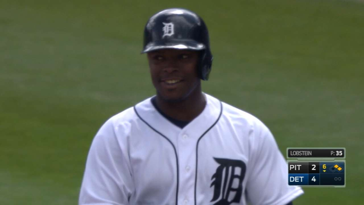 Heavy hitters carry Tigers to win vs. Pirates