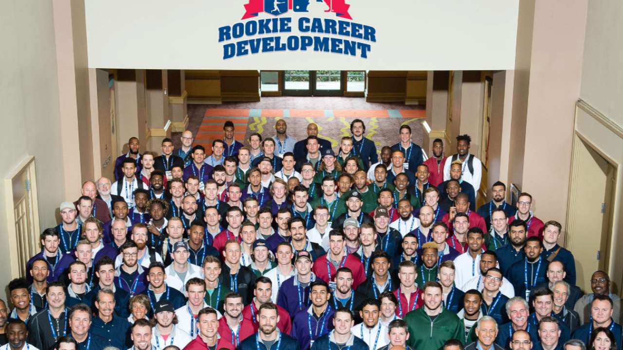 Top prospects attend Rookie Career Development Program