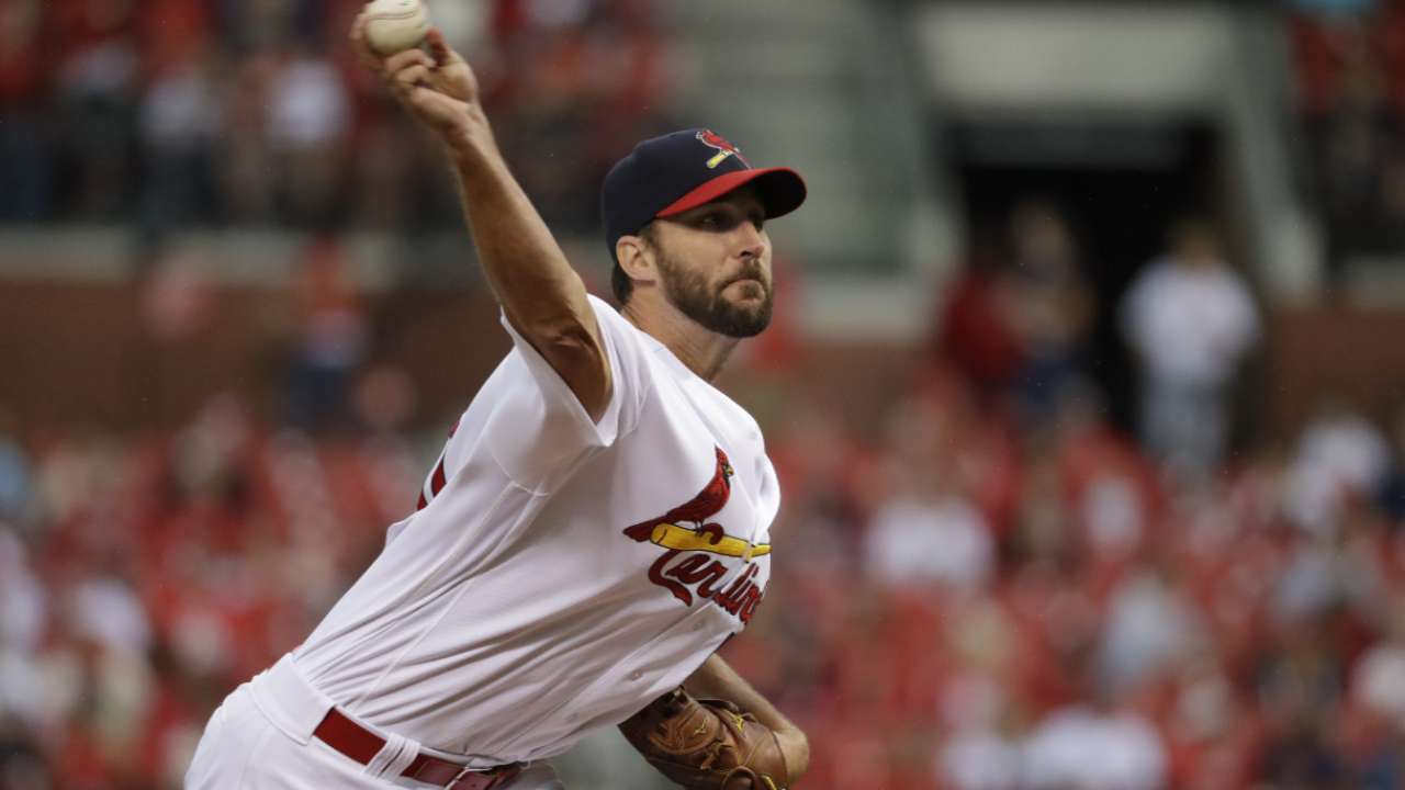 Cards' rotation stacked with promising parts