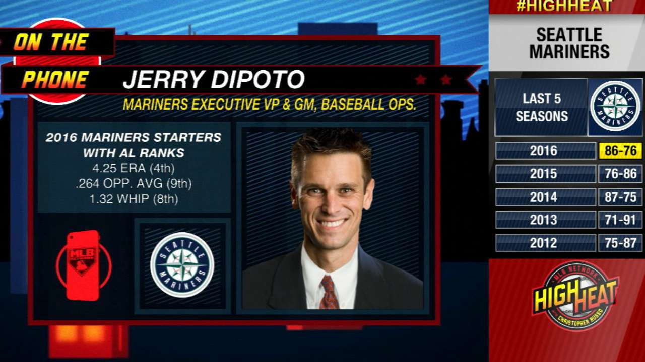 Dipoto on Felix's 2017 outlook