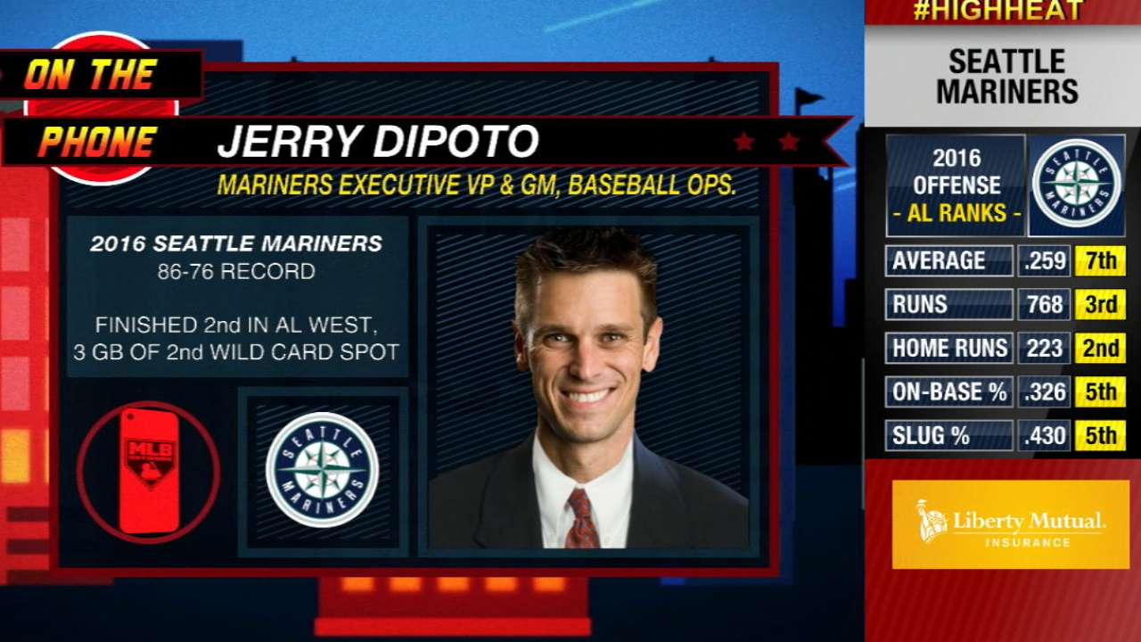 Busy Dipoto showing no signs of slowing