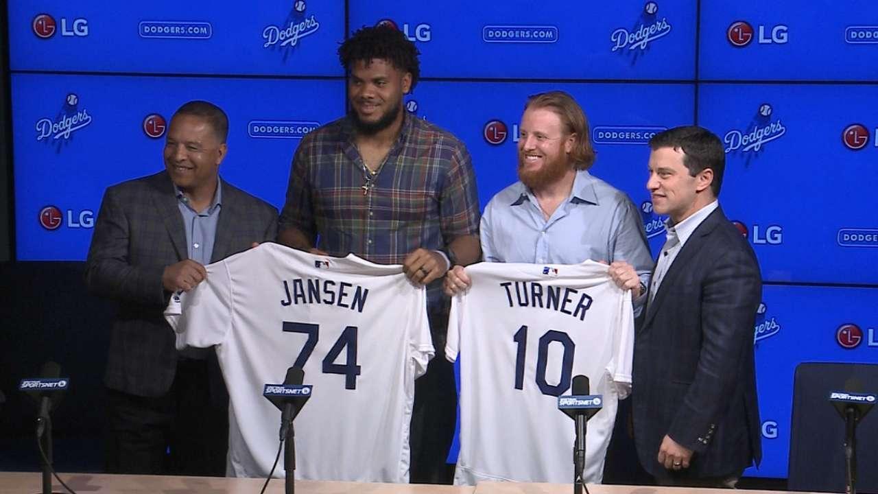 Jansen, Turner motivated by winning title for LA