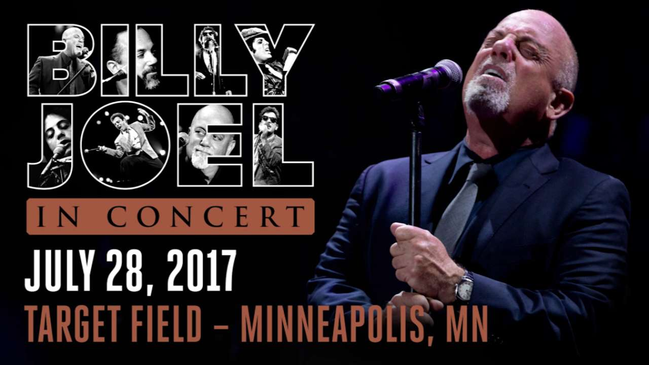 Billy Joel to perform at Target Field in July