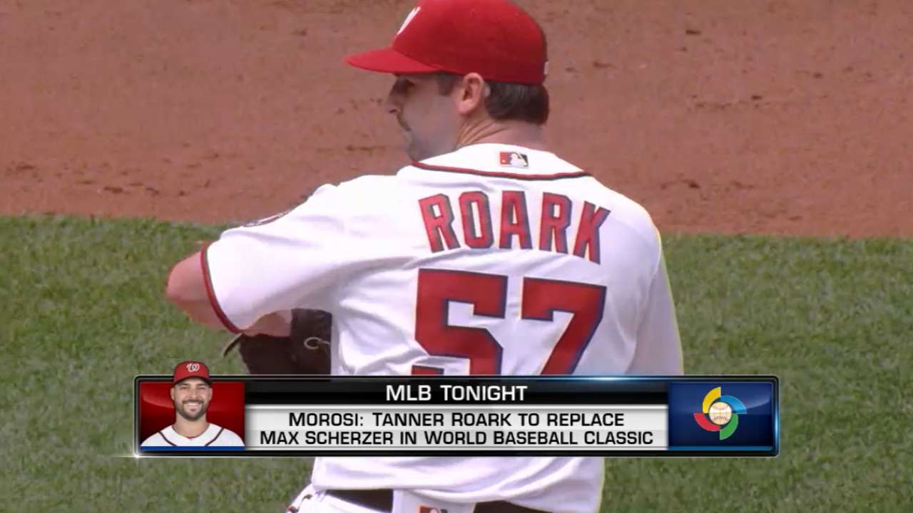 Roark to pitch for Team USA in WBC 2017