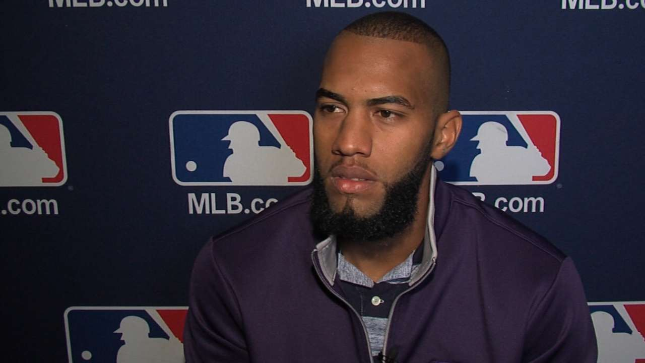 Rosario hopes to follow Reyes' path for Mets