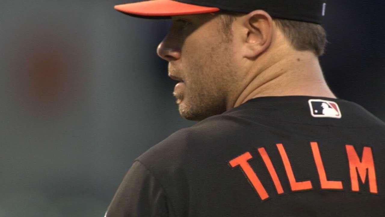 Tillman focused on 2017 season
