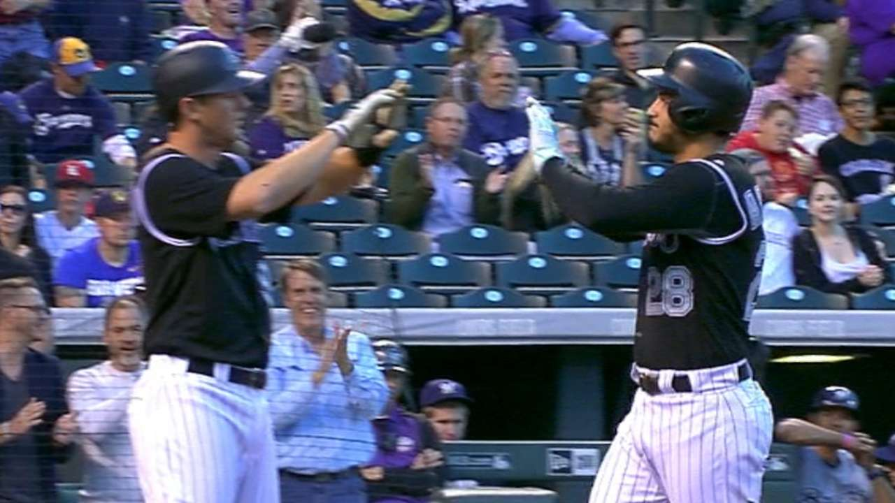 Arenado likes Rockies' chances