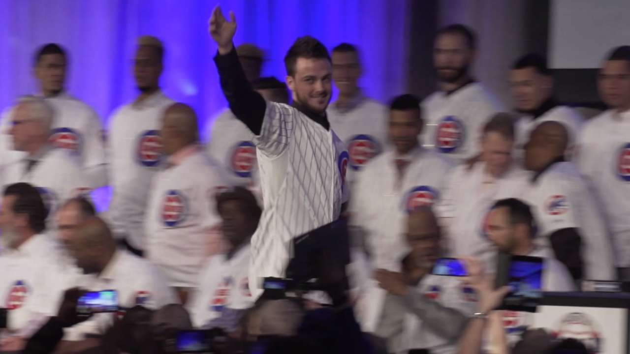 Bryant and Rizzo introduced
