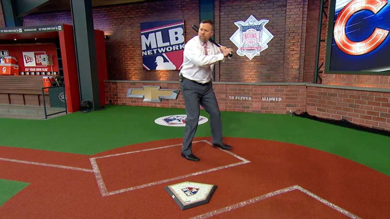 Heyward's new swing