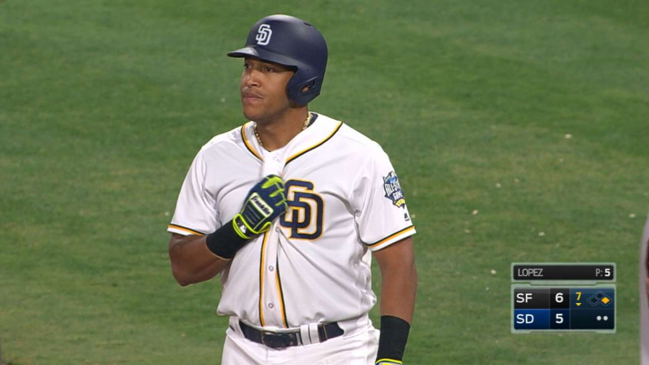 Around the Horn: Solarte in line to start at third for Padres