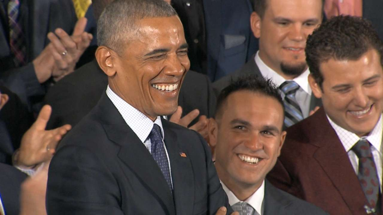 Cubs pardon Obama