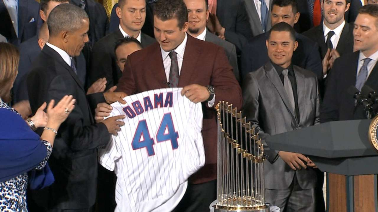 Cubs' gifts to Obama