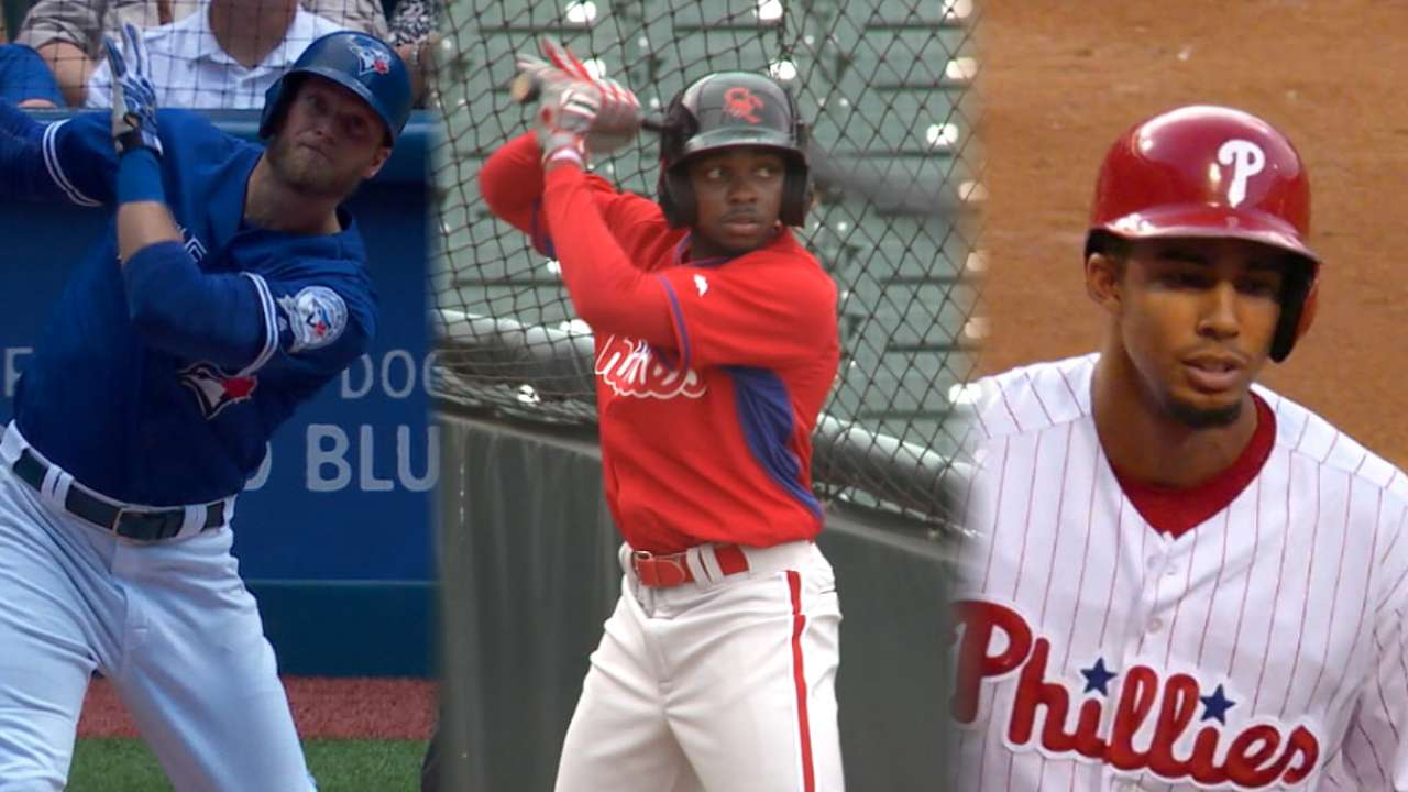 Phillies' outfield shakeup