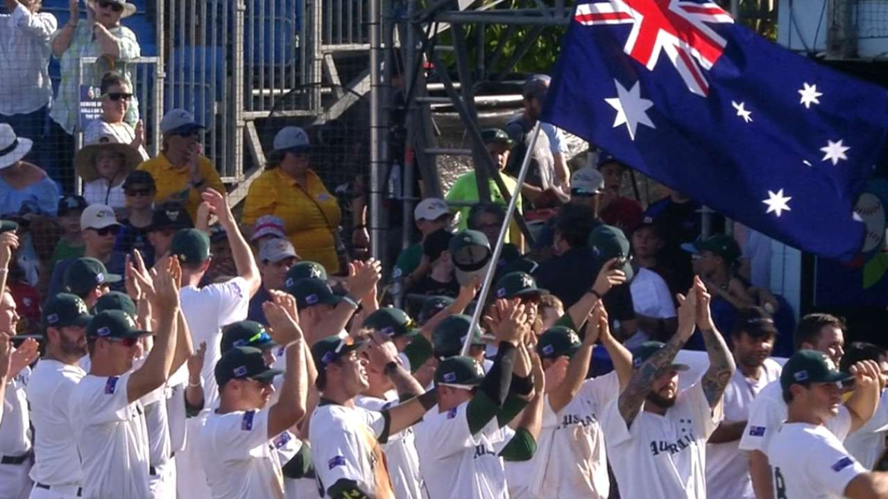 With Australia in, more Qualifiers on tap for 2017 Classic