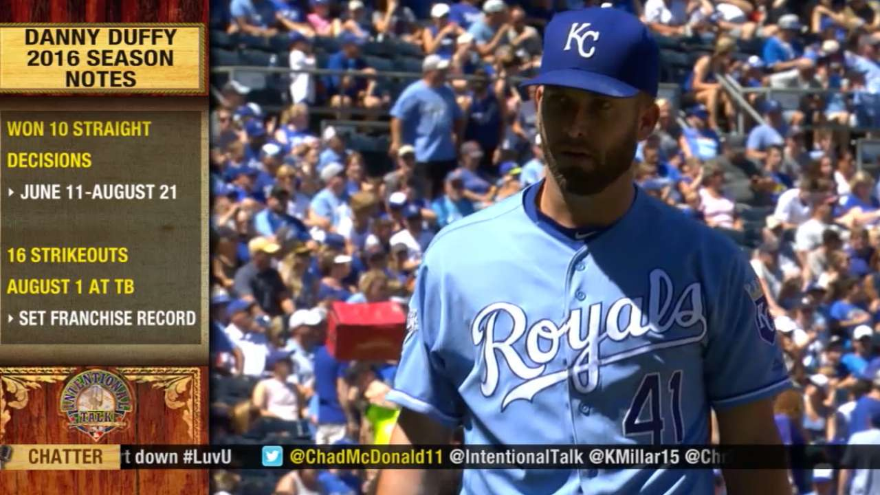 Duffy, Royals agree to extension