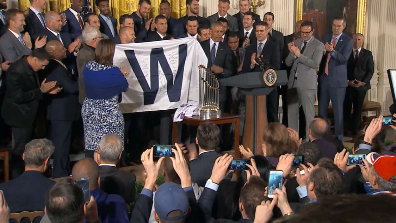 MLB Tonight: White House Visit
