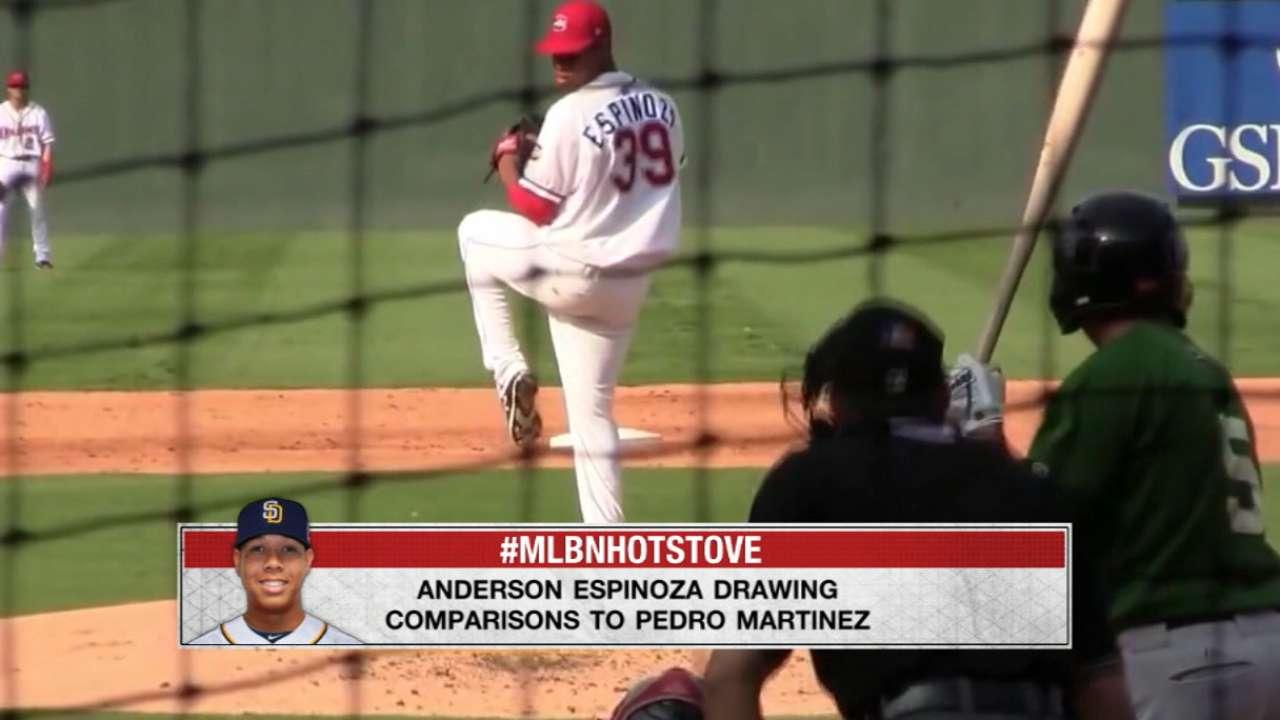 Espinoza drawing big comparisons