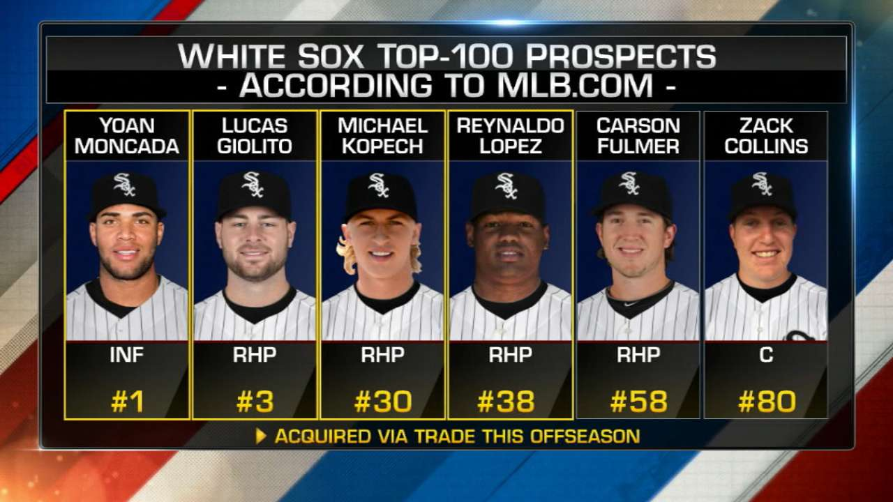 White Sox have top young arms