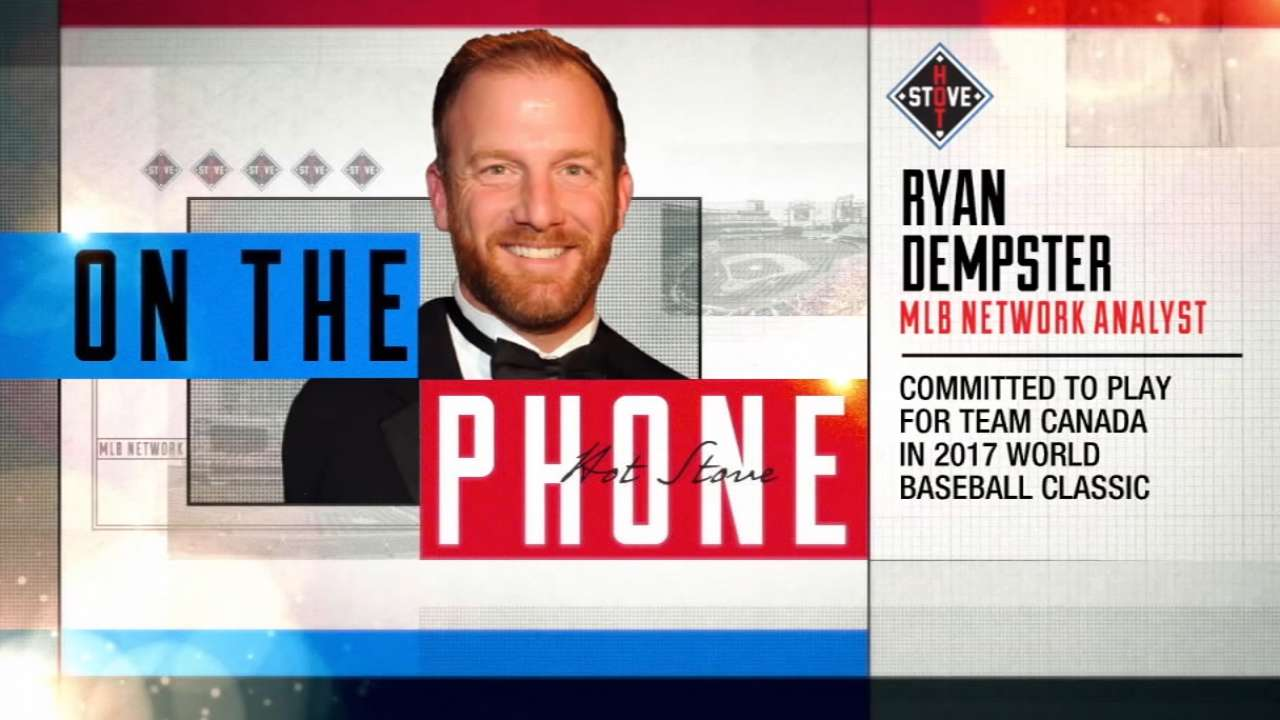 Team Canada adds Dempster, Gagne